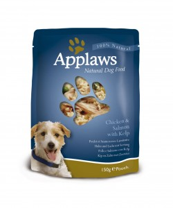new pack design, see through front for dog food