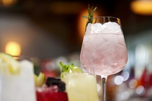 Photography Shoot for Gin and Cocktails all made with Hunters Gin